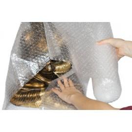 Film bulles SMARTBOXPRO polyéthylène, transparente, 2 plis, rempli d'air - 200 mm x 2 m - 0,060 mm - OEM 243120100