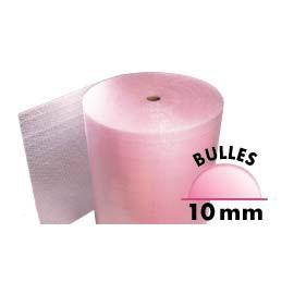 Film à bulles antistatiques anti-choc de 10 mm - 100 cm x 150 m