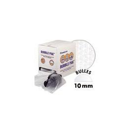 Boite distributrice Bubble Pak - Rouleau de film bulles AIRCAP 10 mm prédécoupé tous les 300 mm - 300 x  300 mm x 50 m