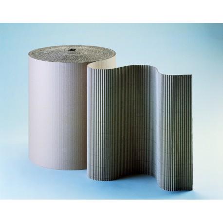 Carton ondulé simple face résistant 350g/m2 - 100 cm x 50 m