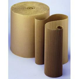 Carton ondulé simple face résistant 450g/m2 - 100 cm x 50 m
