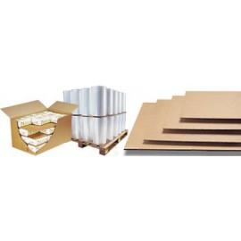 Plaque carton pour protection ou palettisation - PC10kraft 117 x 77 cm