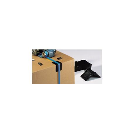 Angle de protection plastique 25 x 25 mm - Colis de 2000