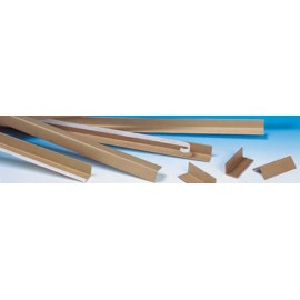 Angle de protection carton 3 mm 100 x 35 x 35 mm - Colis de 1000