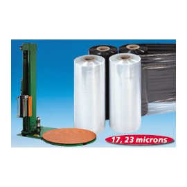 Film étirable transparent machine cast - 23 my 220% 500 mm x 1500 m