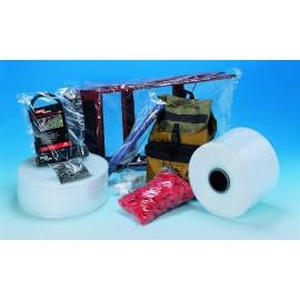 Gaine plastique polyéthylène 50 microns 350 mm x 700 m