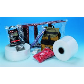 Gaine plastique polyéthylène 50 microns 400 mm x 700 m