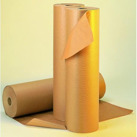 Papier kraft en rouleau 70g/m2 laize 100 cm - Mandrin intérieur rouleau 7 cm