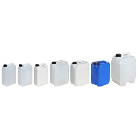 Bidon plastique blanc 5 litres y 1.6 186 x 127 x 290 mm