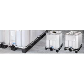 Conteneur IBC 1000 litres en polyéthylène Haute Densité (HDPE) - 120 x 100 x 116.5 cm