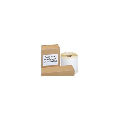 1000 Etiquettes identification - Mention expéditeur/destinataire - 120 x 80 mm