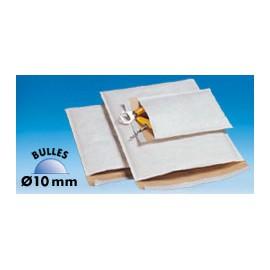 Pochette top bulles blanc 112g/m2 - 12 x 21 cm - Colis de 100