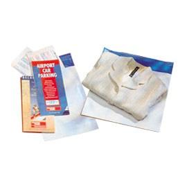 Pochette plastique indéchirable - 17 x 22,5 cm & Rabas 50 mm - Colis de 500