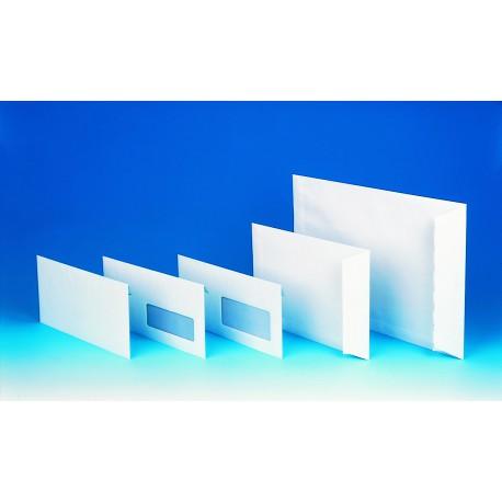 500 Enveloppes blanches sans fenêtre - 110 x 220 mm