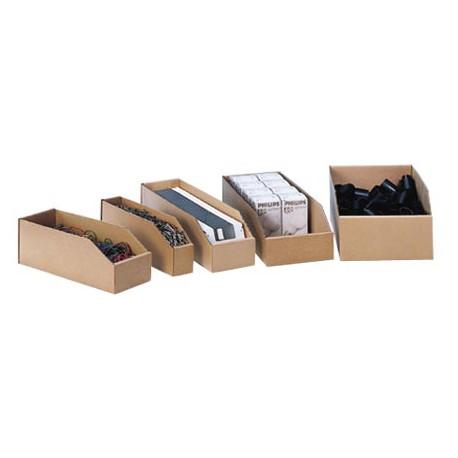 Bac de stockage carton PC30kraft 30 x 10 x 11 cm