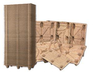 palette en bois moulée-palettisation-calages-emballages