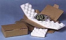 étui capitonné de mousse-calage-protection-transport-mousse calage-boite carton-housse-envelope-preserver-camions-emballages